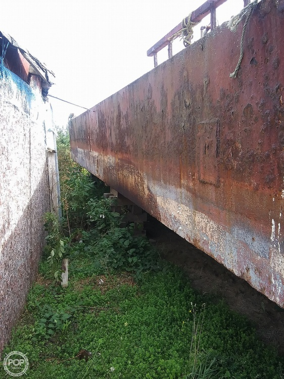 1994 Corten Steel boat for sale, model of the boat is 20' x 52' Barge & Image # 25 of 35
