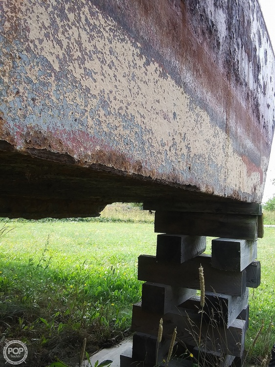 1994 Corten Steel boat for sale, model of the boat is 20' x 52' Barge & Image # 27 of 35