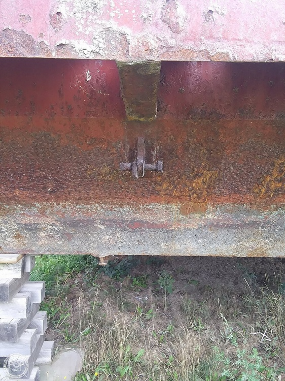 1994 Corten Steel boat for sale, model of the boat is 20' x 52' Barge & Image # 30 of 35
