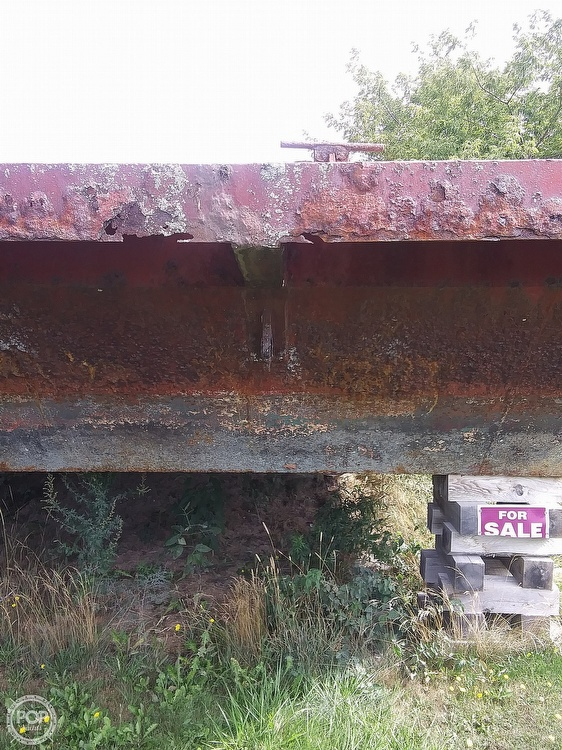 1994 Corten Steel boat for sale, model of the boat is 20' x 52' Barge & Image # 31 of 35