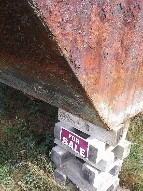 1994 Corten Steel boat for sale, model of the boat is 20' x 52' Barge & Image # 33 of 35