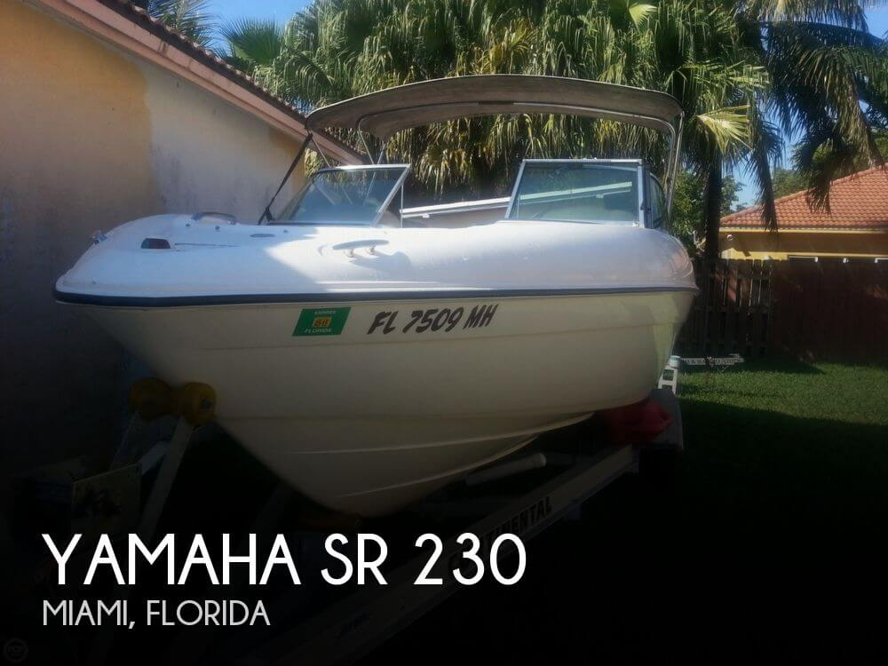 For Sale Used 2003 Yamaha Sr 230 In Miami Florida Boats