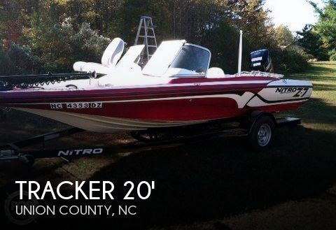 For sale used 2014 tracker boats nitro z 7 sport in for Ride now motors in monroe north carolina
