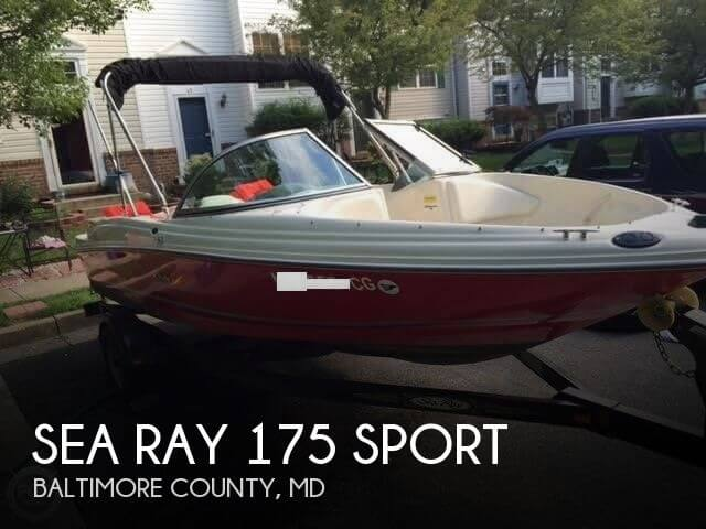 2006 Sea Ray 175 Sport - Photo #1