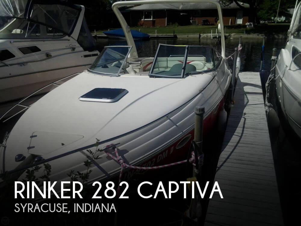 Canceled  Rinker 282 Captiva Boat In Syracuse  In