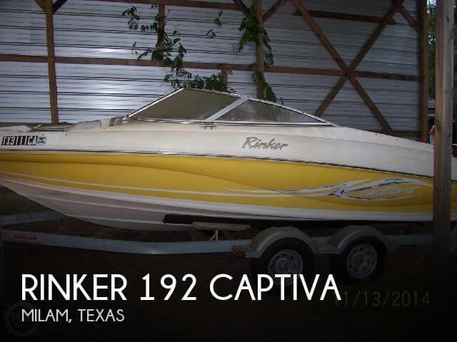 2005 Rinker 192 Captiva