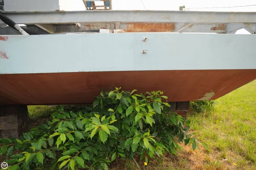 2009 Custom boat for sale, model of the boat is 30 Work Barge & Image # 12 of 40