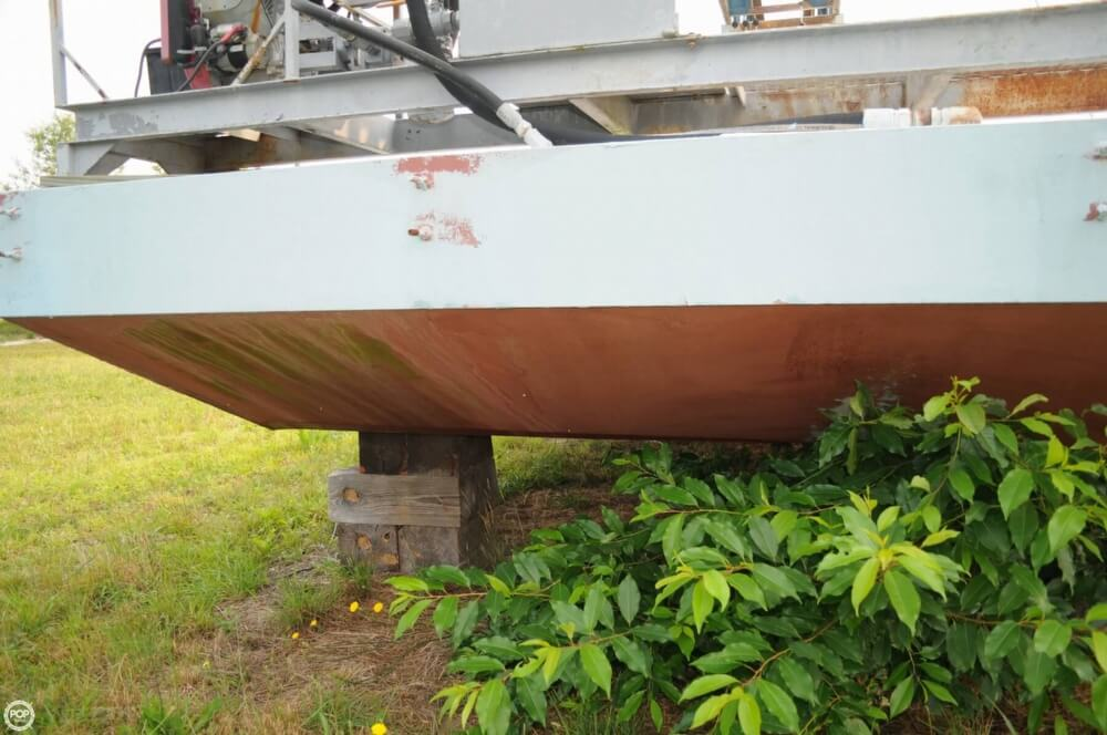 2009 Custom boat for sale, model of the boat is 30 Work Barge & Image # 13 of 40