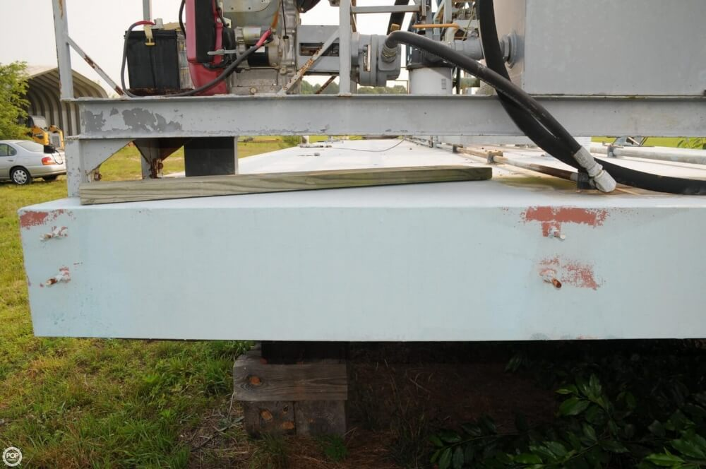 2009 Custom boat for sale, model of the boat is 30 Work Barge & Image # 14 of 40