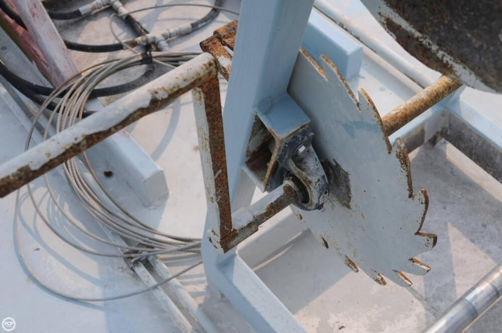 2009 Custom boat for sale, model of the boat is 30 Work Barge & Image # 36 of 40