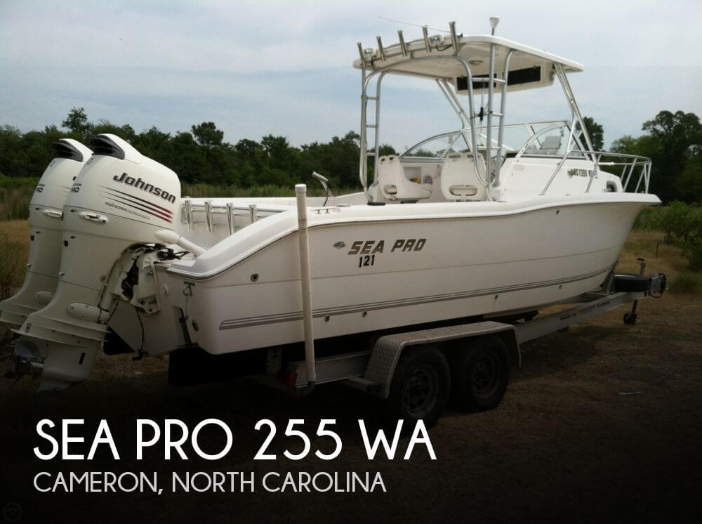2005 Sea Pro 255 WA - Photo #1