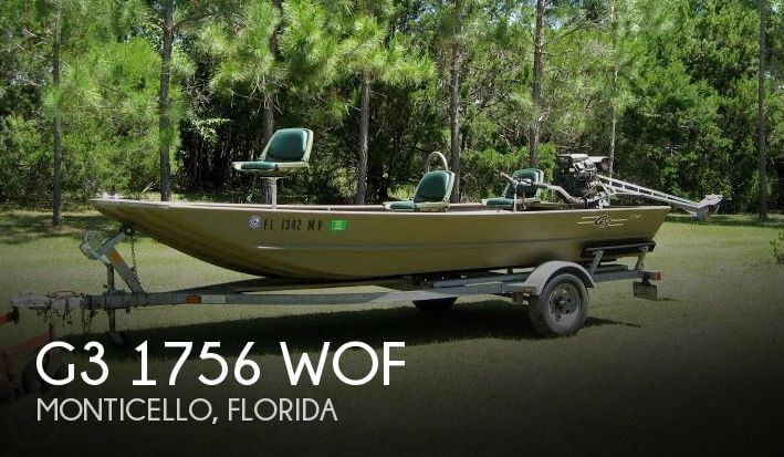 2005 G3 BOATS 1756 WOF for sale