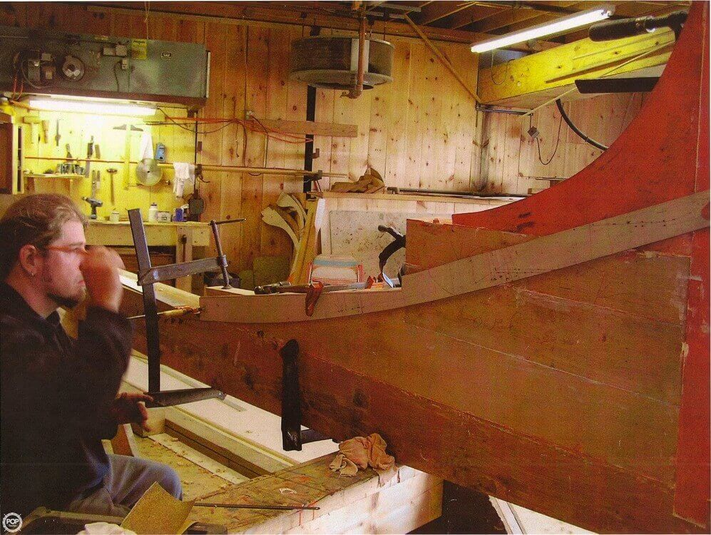 Apprentice Shop At The Atlantic Challenge School In Rockland, Maine, USA