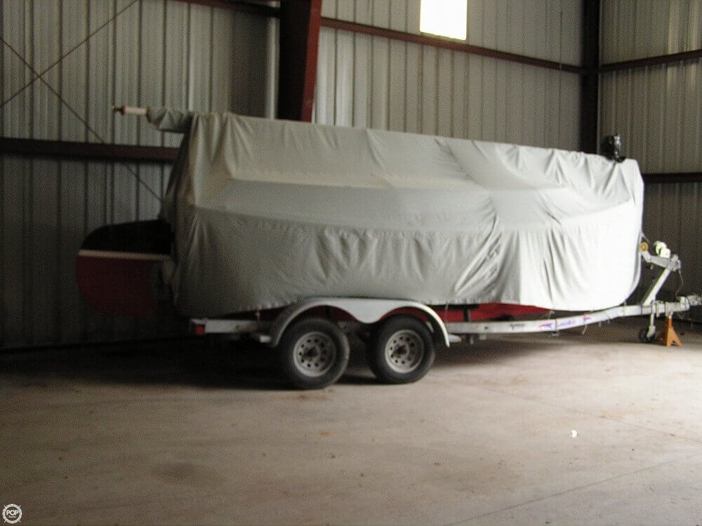Light Green, Canvas Boat Cover For Winter Storage