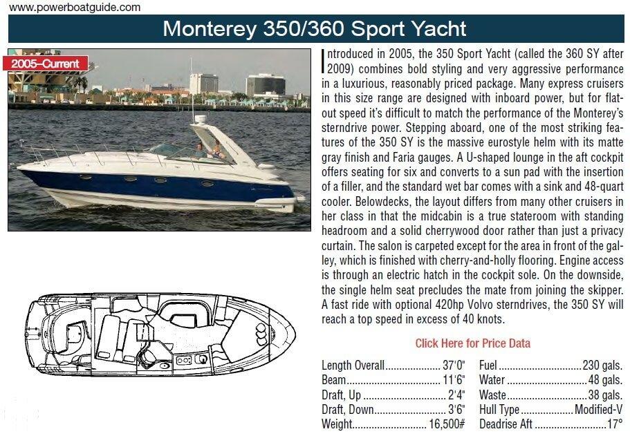 2008 Monterey 350 Sport Yacht - Photo #2