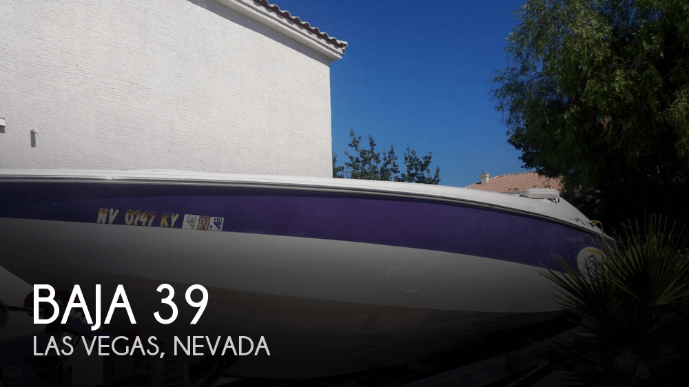 Used Boats For Sale in Las Vegas, Nevada by owner | 2001 Baja 39