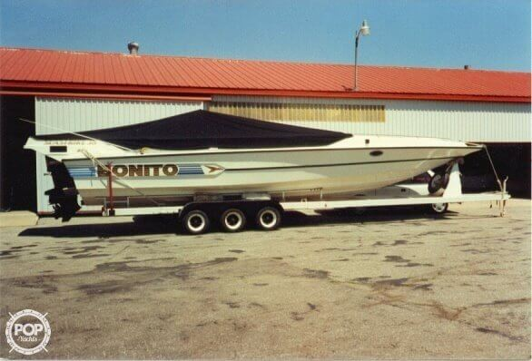 1987 Bonito boat for sale, model of the boat is 38 Seastrike & Image # 4 of 40