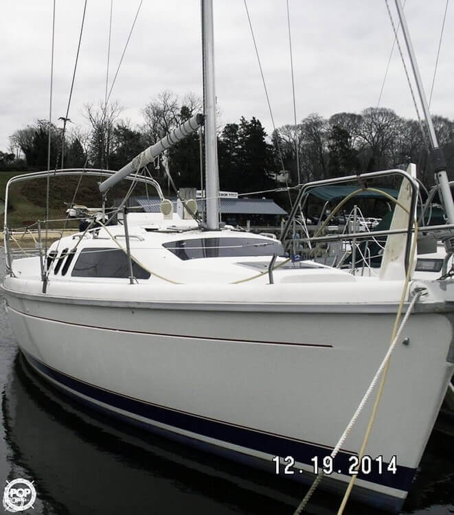 1994 Hunter 29.5 - Photo #2
