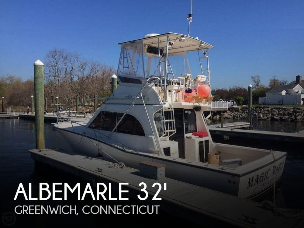 1998 ALBEMARLE 325 SPORT FISH CONVERTIBLE for sale