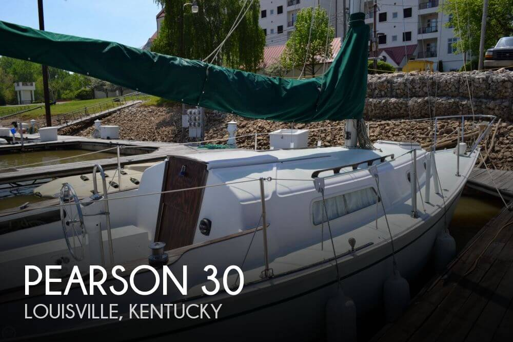 For sale used 1977 pearson 30 in louisville kentucky for Fishing in louisville ky