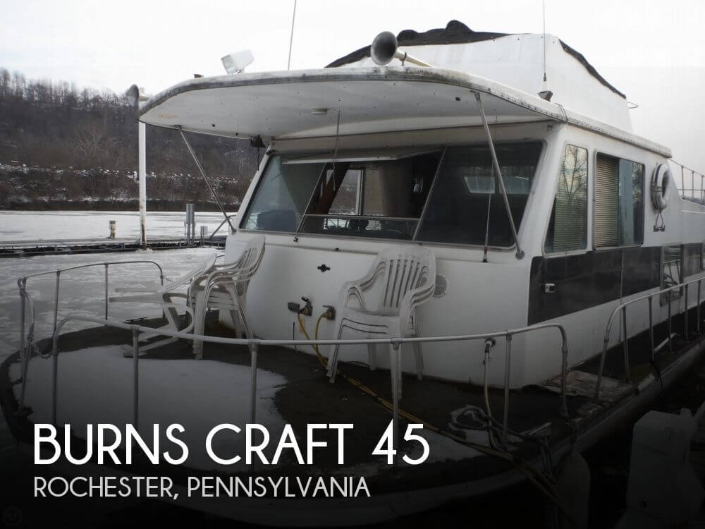 1973 Burns Craft 45 - Photo #1