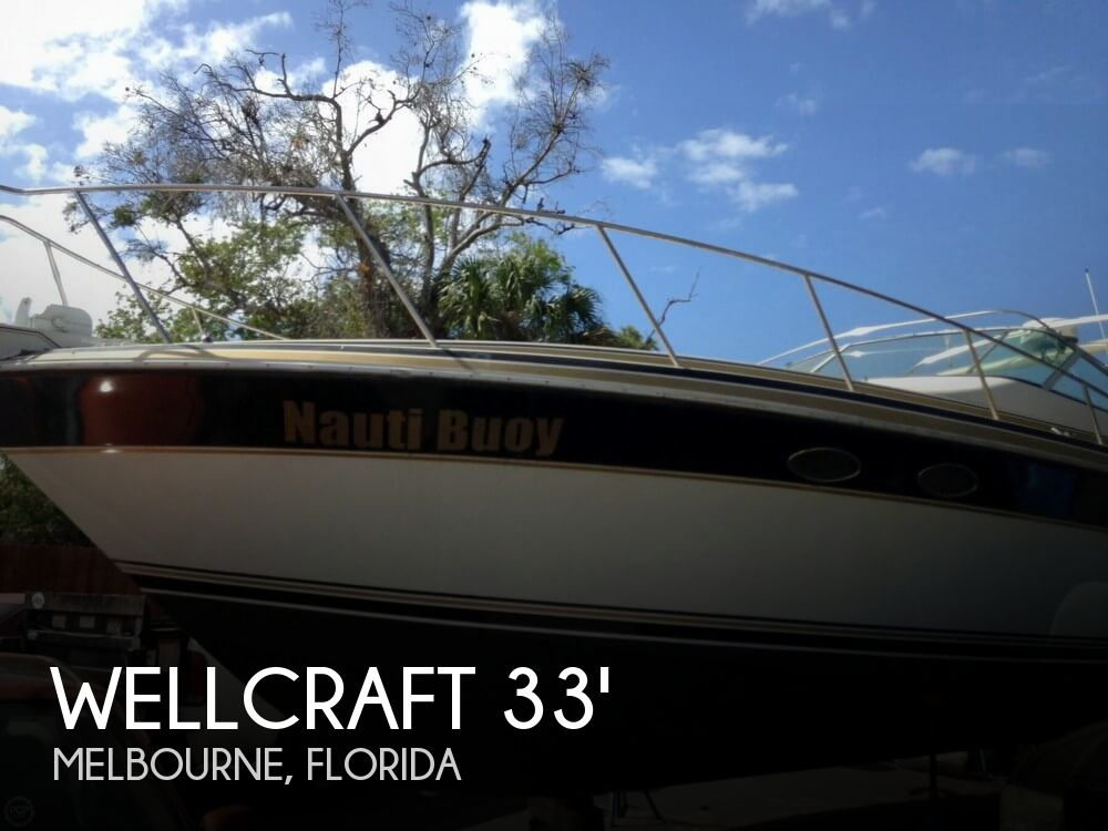1988 Wellcraft boat for sale, model of the boat is 3400 Gran Sport & Image # 1 of 40