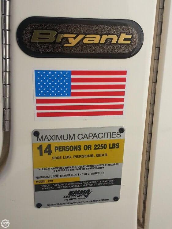 2008 Bryant 265 Bowrider - Photo #29