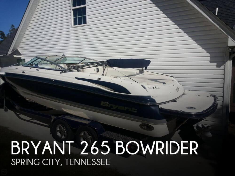2008 Bryant 265 Bowrider - Photo #1