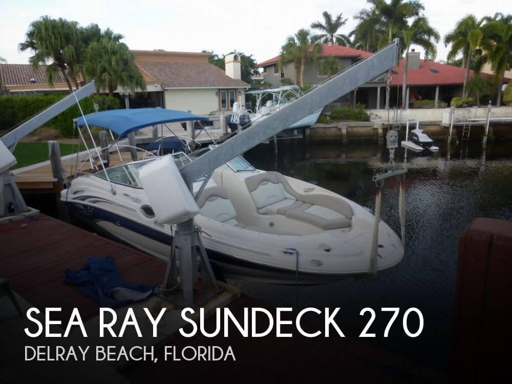 2003 Sea Ray Sundeck 270 - Photo #1