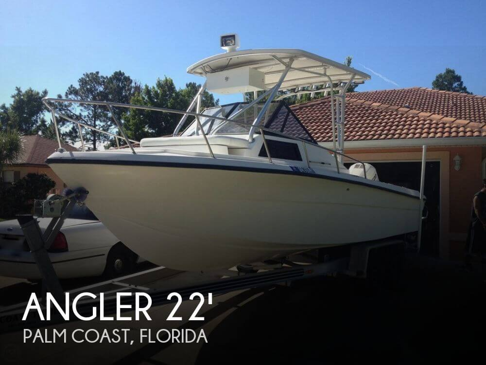 1994 Angler 220 Walkaround - Photo #1