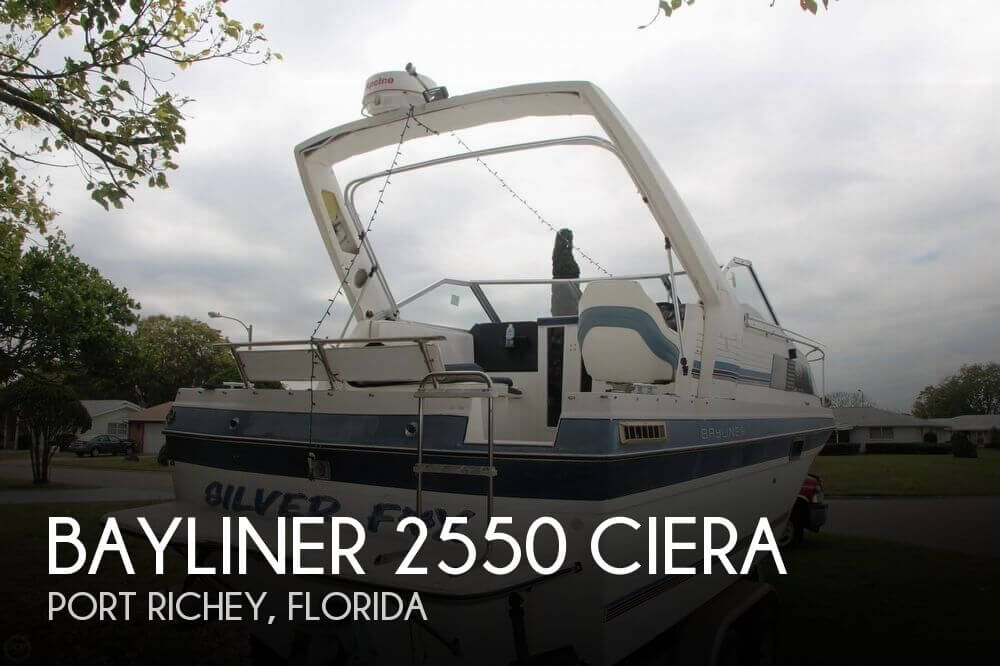 1986 Bayliner 2550 Ciera - Photo #1