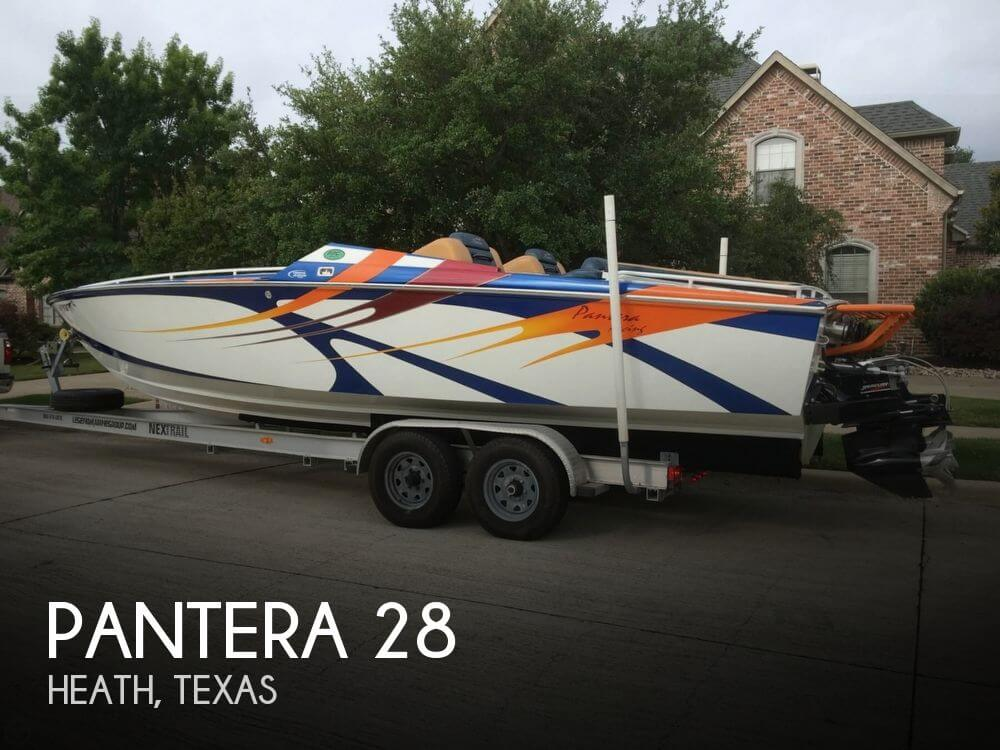 Used Pantera Boats For Sale by owner | 2000 Pantera 28