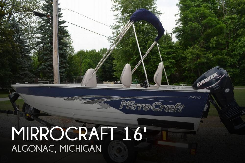 2011 MIRROCRAFT 1676 OUTFITTER for sale