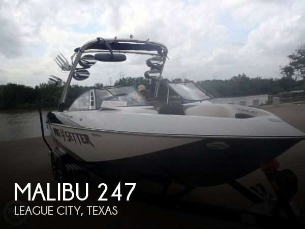 Used MALIBU Boats For Sale in Texas by owner   2012 Malibu Wakesetter 247 LSV