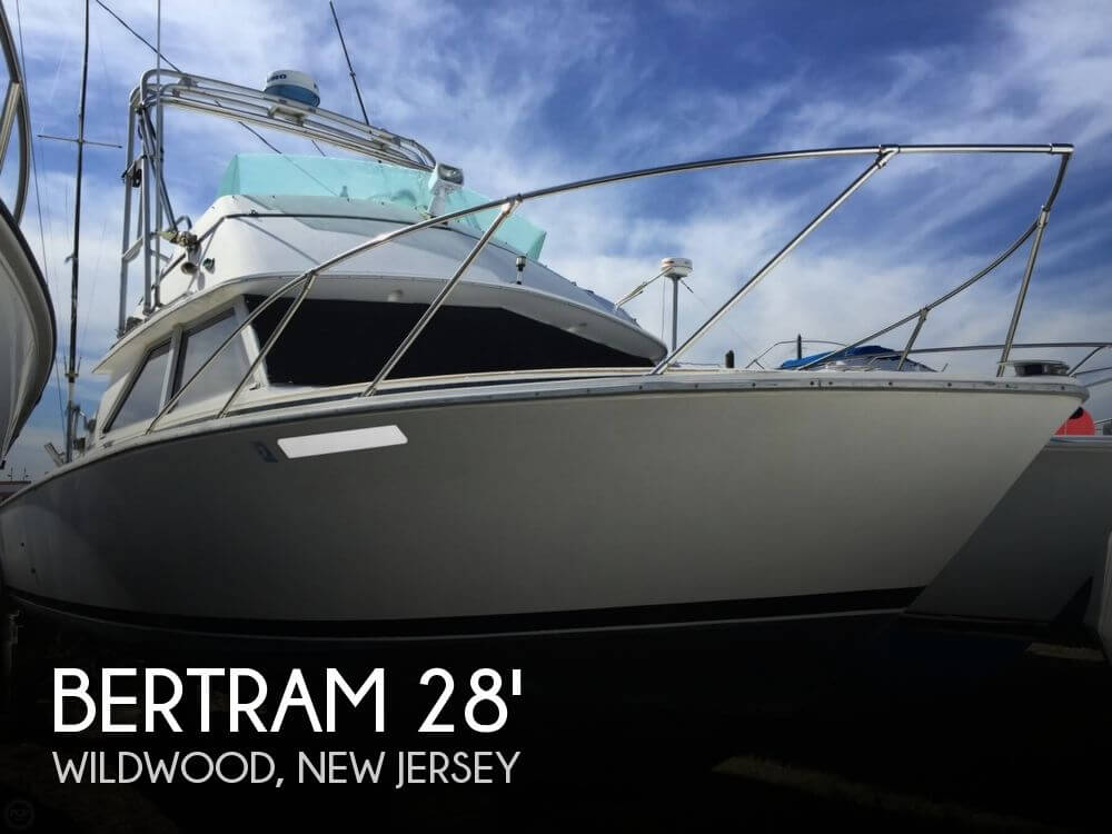 Bertram 28 sportfisherman for sale in wildwood nj for for Fishing wildwood nj