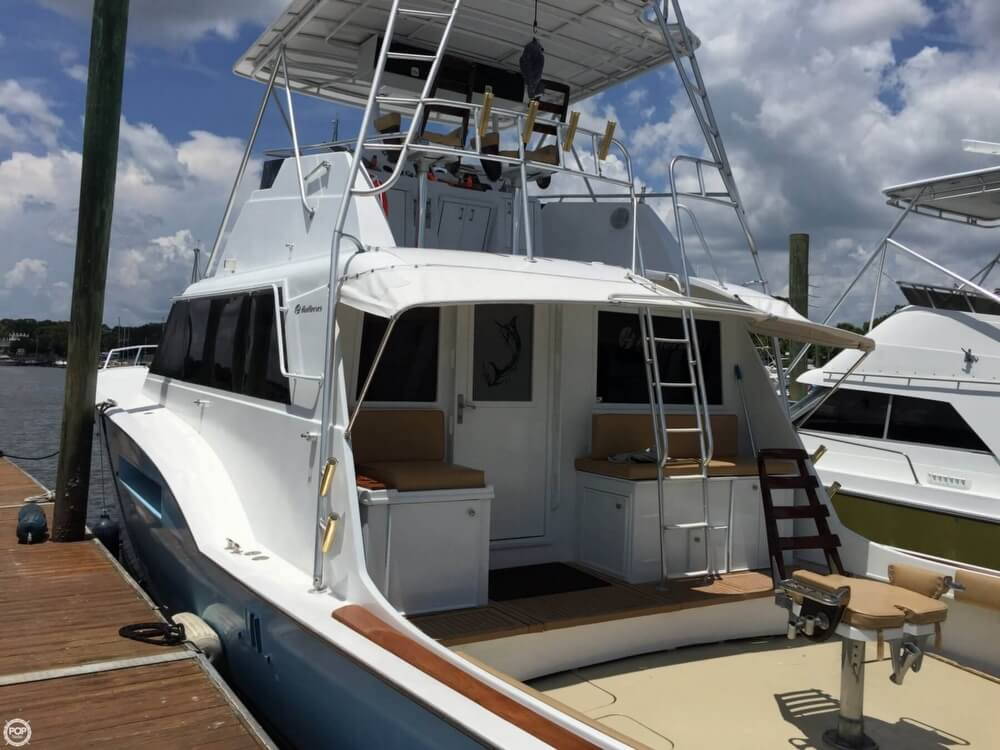 1978 Hatteras boat for sale, model of the boat is 53 Convertible & Image # 11 of 40
