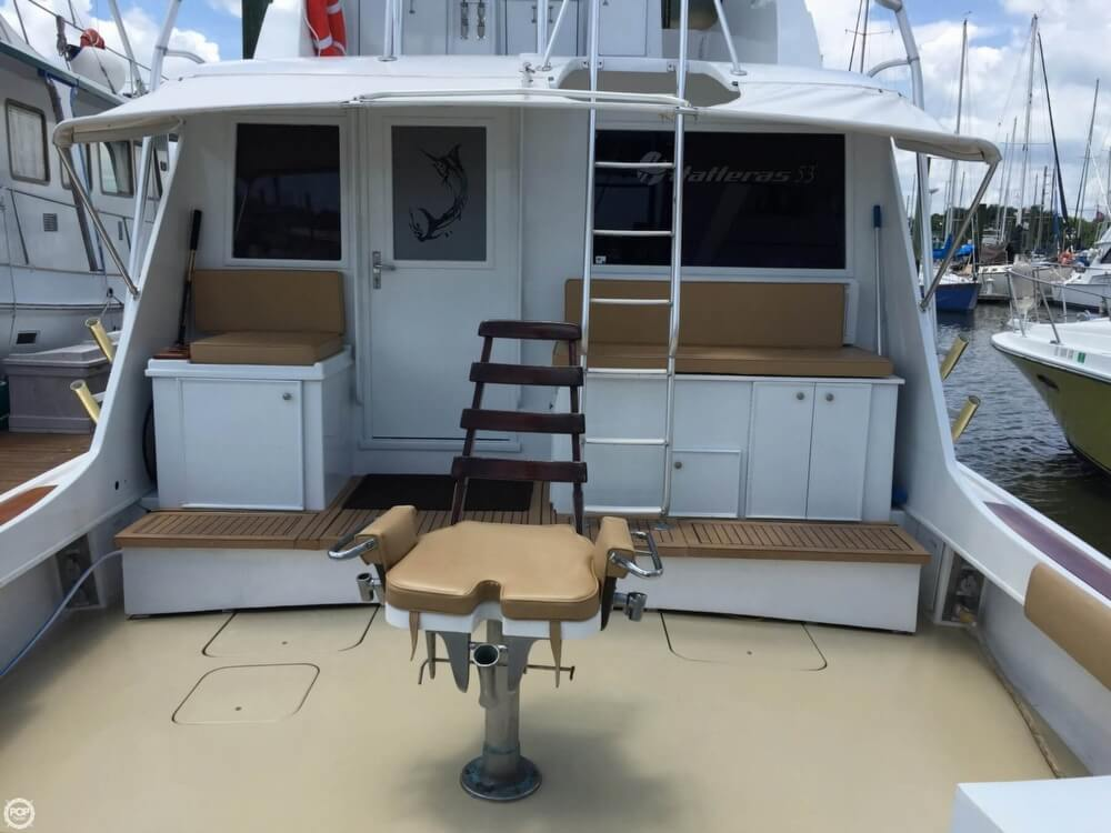 1978 Hatteras boat for sale, model of the boat is 53 Convertible & Image # 2 of 40