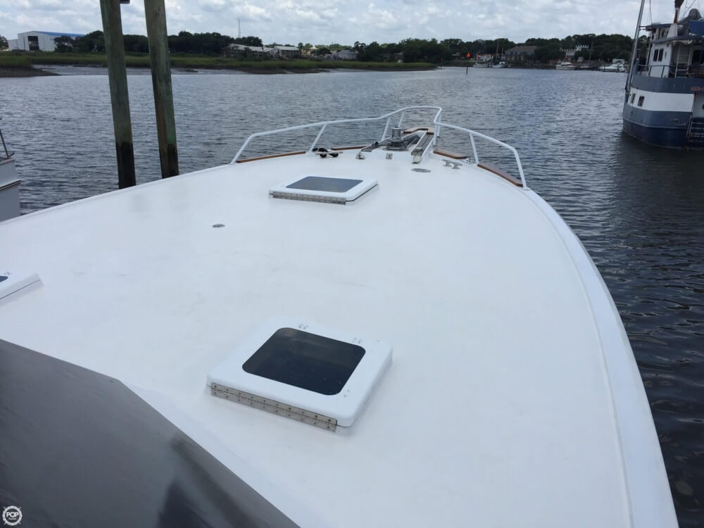 1978 Hatteras boat for sale, model of the boat is 53 Convertible & Image # 3 of 40