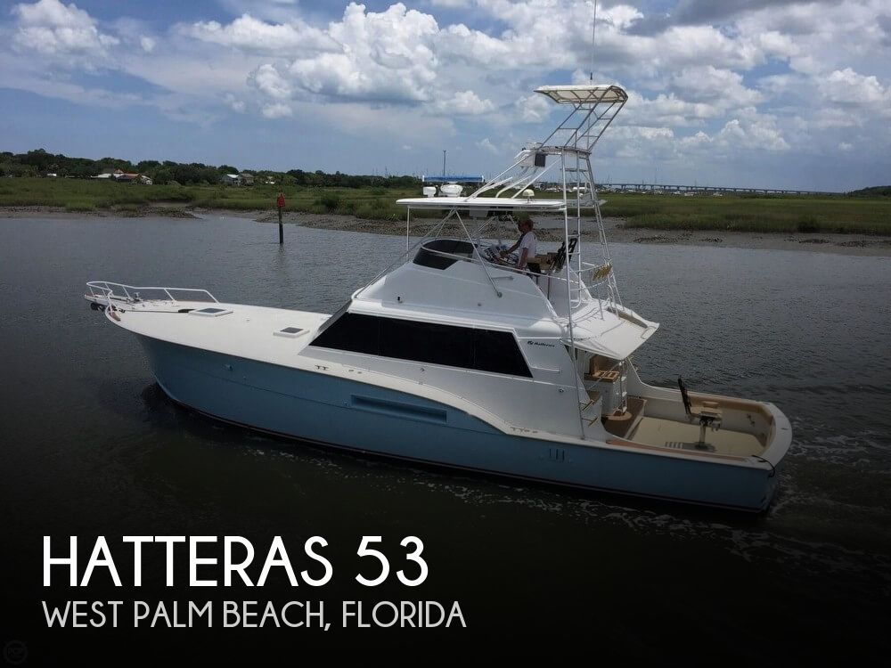 1978 Hatteras boat for sale, model of the boat is 53 Convertible & Image # 1 of 40