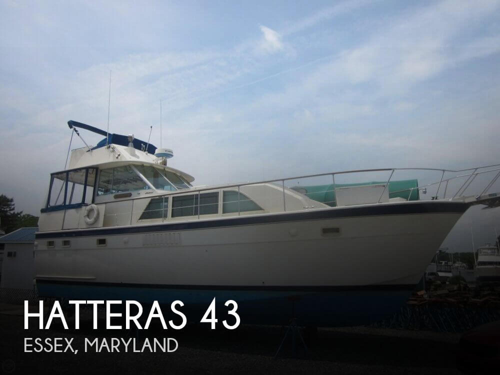 1974 HATTERAS 43 for sale
