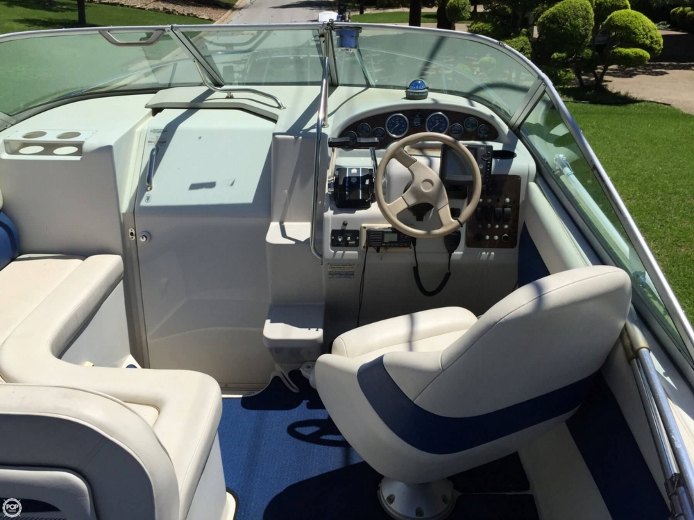 Cockpit Of Boat