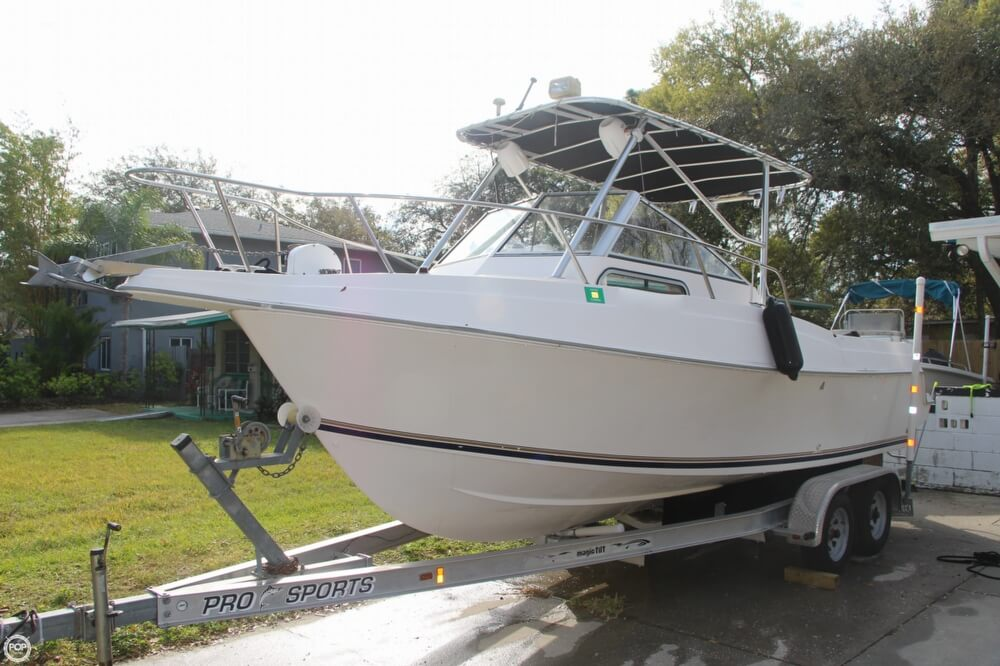 1997 Aquasport 225 Explorer - Photo #3