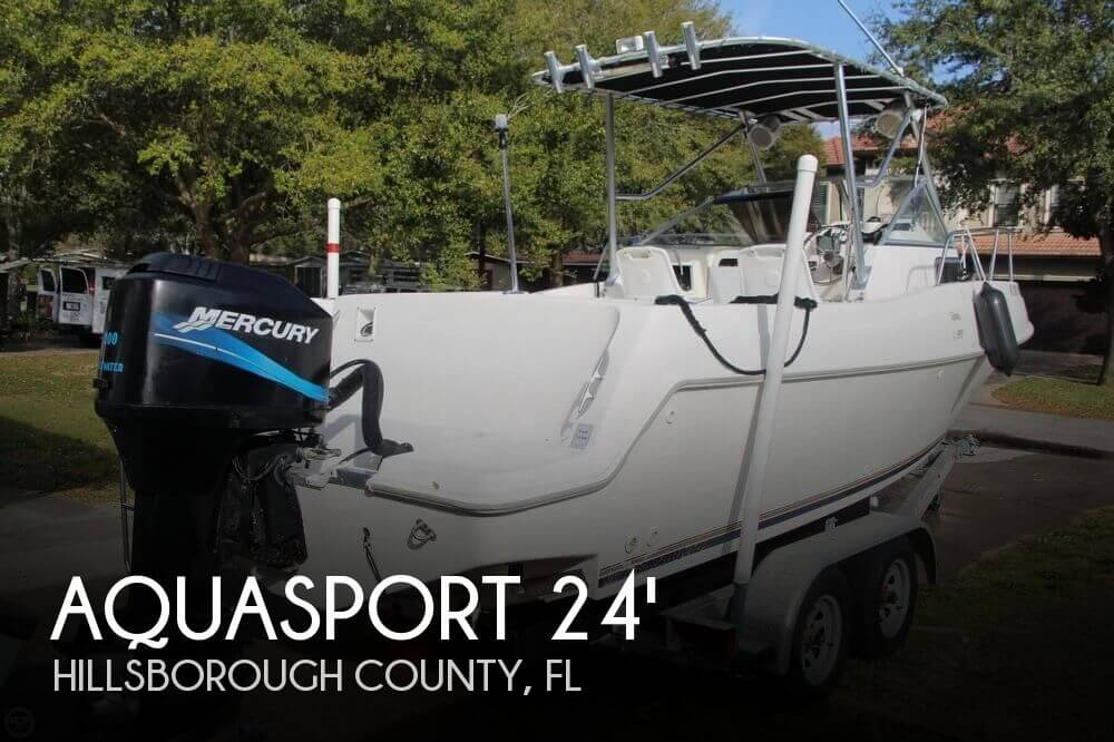 For sale used 1997 aquasport 225 explorer in tampa for Select motors of tampa