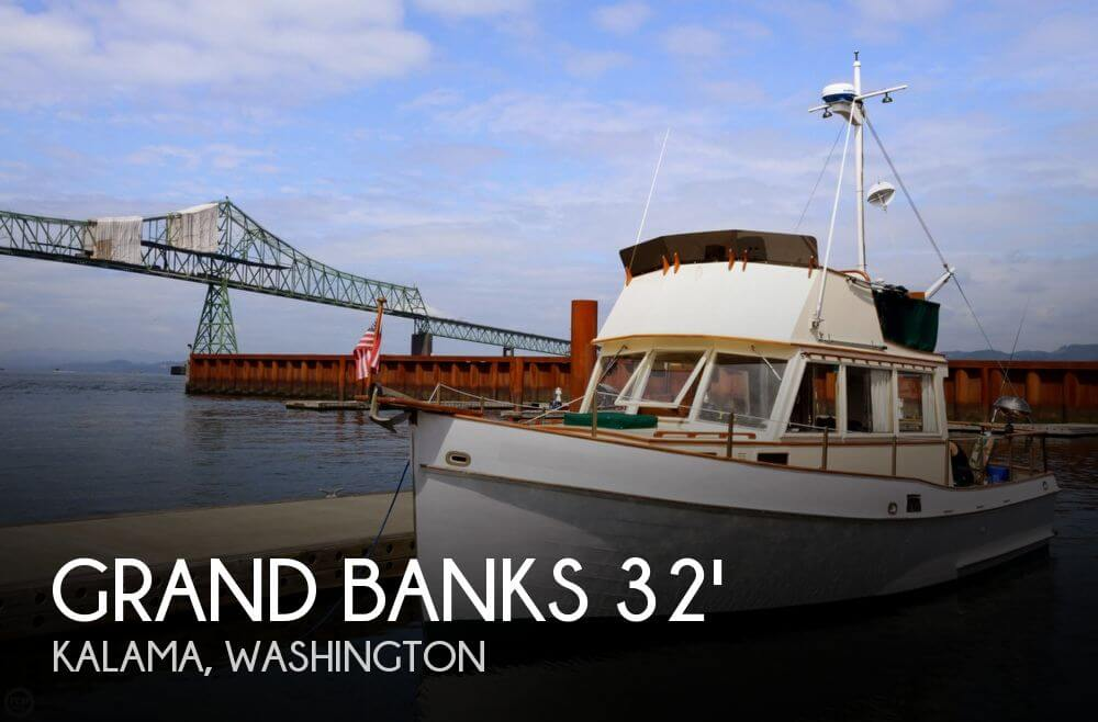 1966 GRAND BANKS 32 SEDAN for sale