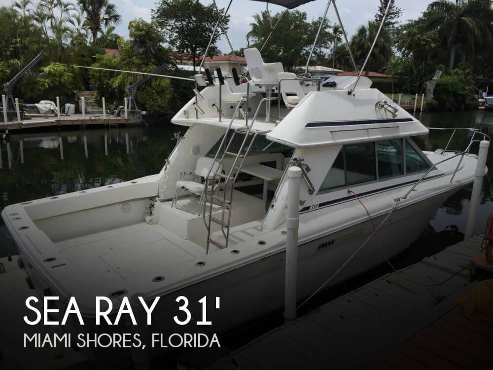 For Sale Used 1992 Sea Ray 310 Sport Bridge In Miami