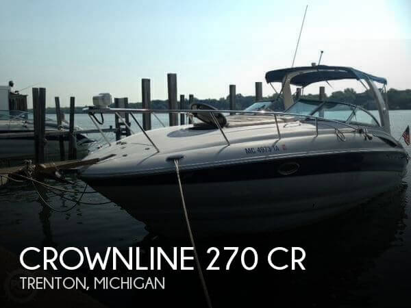 2004 Crownline 270 CR - Photo #1