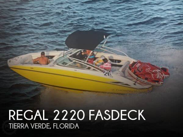 2008 Regal 2220 FasDeck for sale