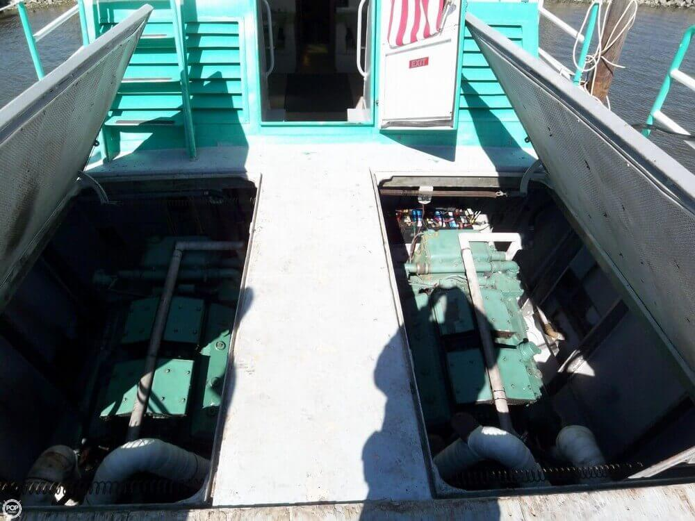 1963 Stewart Seacraft boat for sale, model of the boat is 64 Crew Boat with 2013 engines & Image # 14 of 40