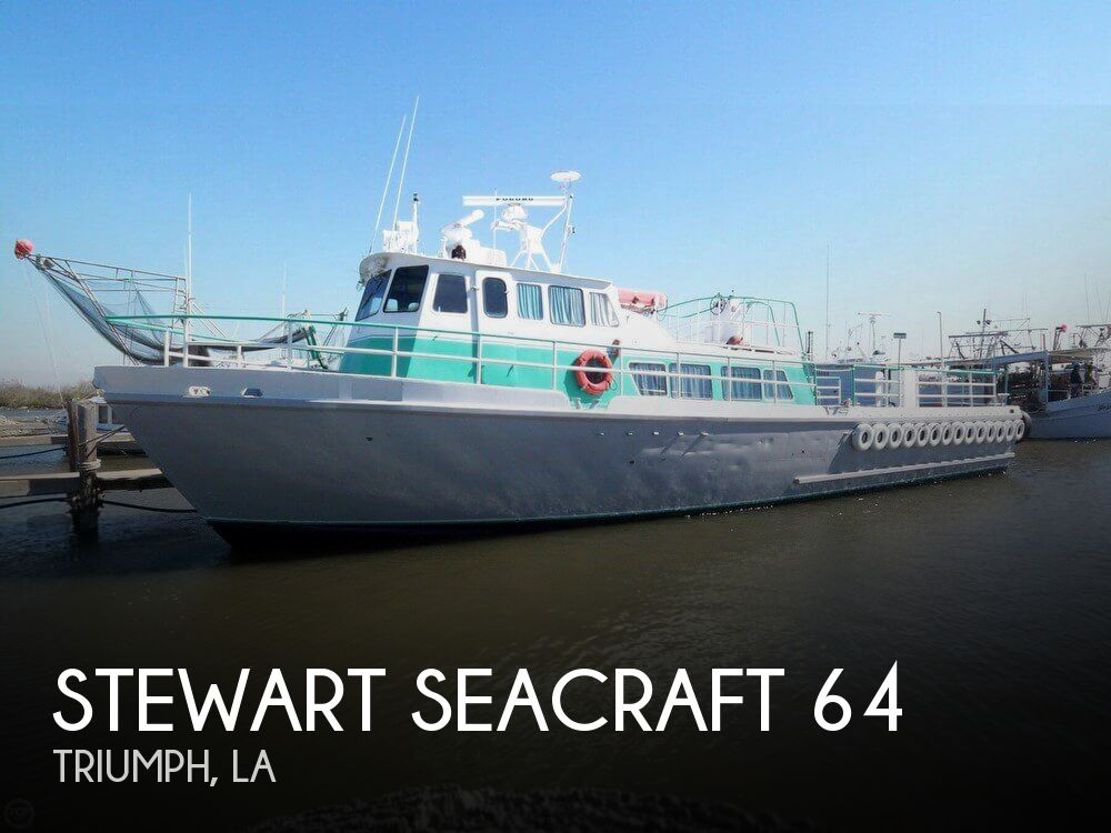 1963 Stewart Seacraft 64 Crew Boat with 2013 engines