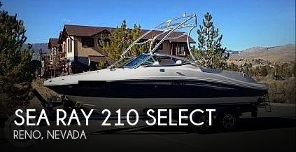 2007 Sea Ray 210 Select - Photo #1